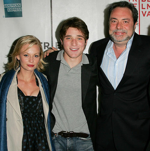 Samantha Mathis, Trevor Morgan and director George Gallo at the New York premiere of