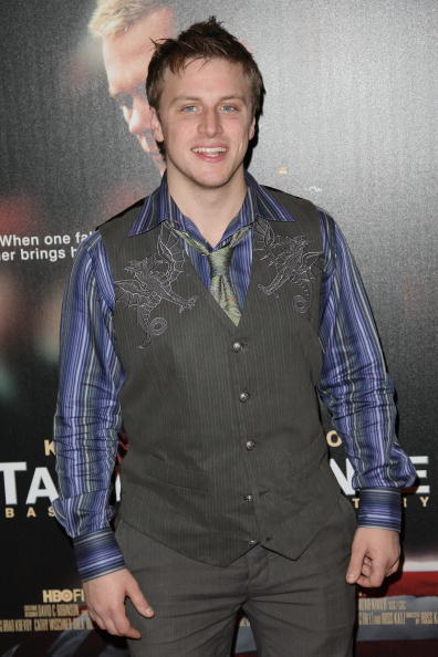 Noah Fleiss at the premiere of