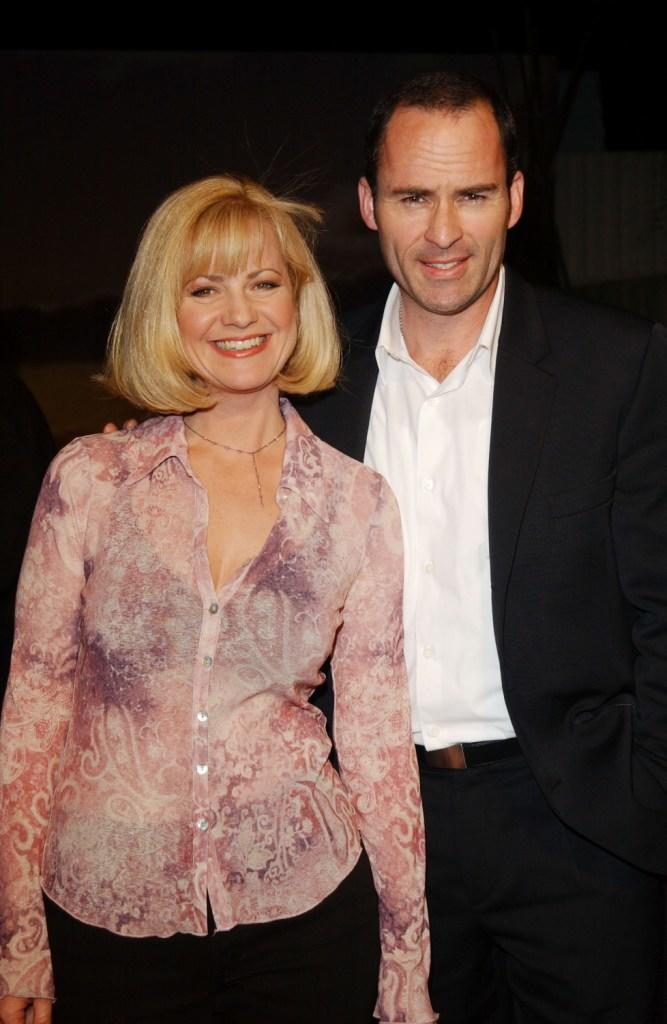 Bonnie Hunt and Mark Derwin at the ABC All-Star party.