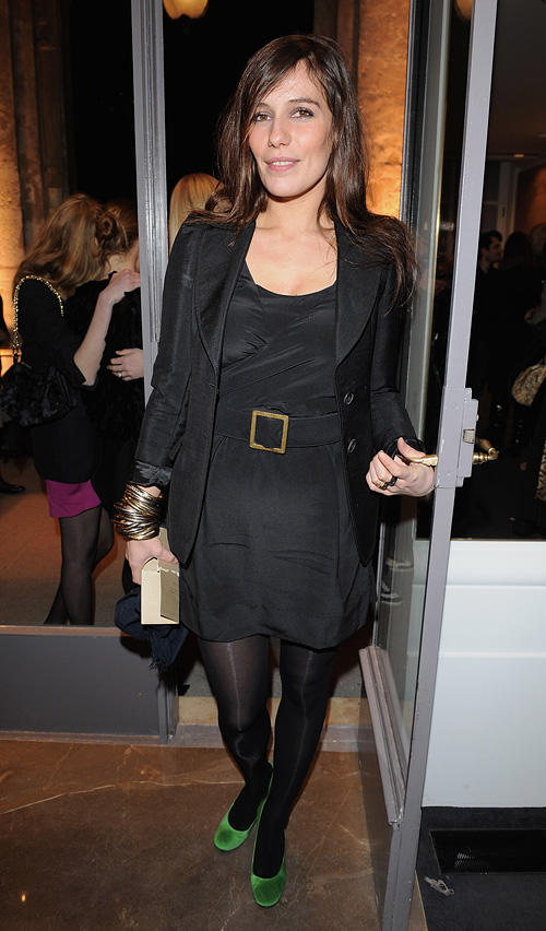 Zoe Felix at the Stella McCartney Paris store opening in France.