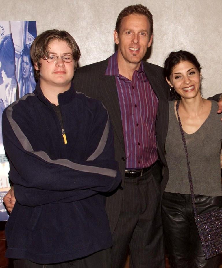 Rufus Read, Director Stephen Kinsella and Callie Thorne at the screening of