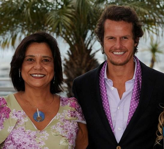 Ana Maria Magalhaes and Ricardo Trepa at the photocall of