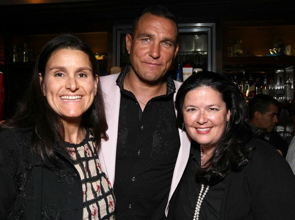 Shannon McIntosh, Vinnie Jones and Shana Stein at the after party of the premiere of