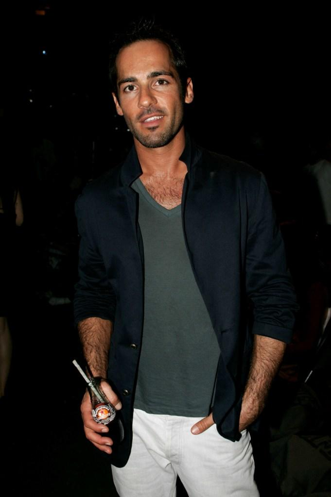 Alex Dimitriades at the Ksubi catwalk during the Rosemount Australian Fashion Week Spring / Summer 2007/ 2008.