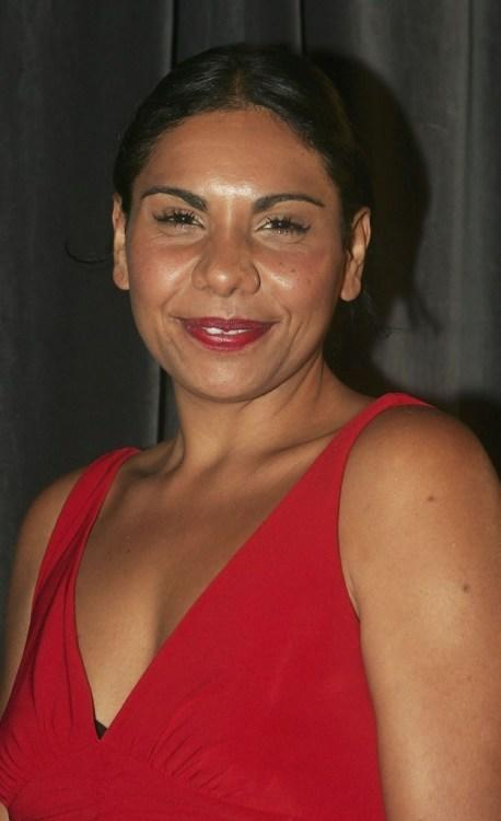Deborah Mailman at the third ASTRA Awards.