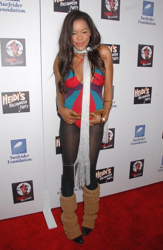 Golden Brooks at the Heidi Klums 8th Annual Halloween Party.