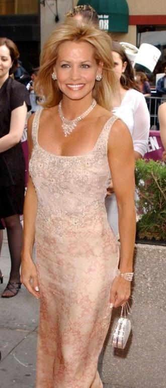 Krista Tesreau at the 29th Annual Daytime Emmy Awards.