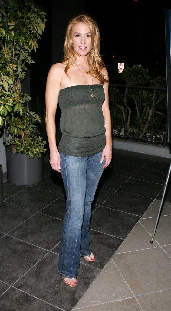 Poppy Montgomery at the premiere of