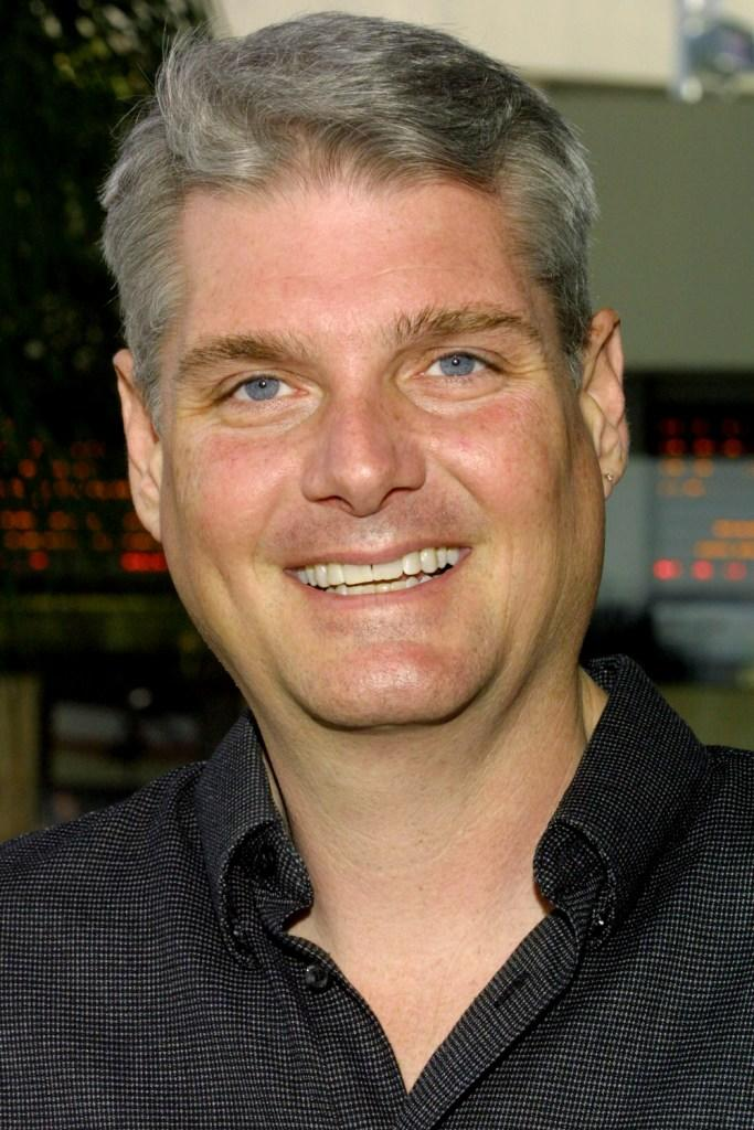 Tom Kane at the premiere of