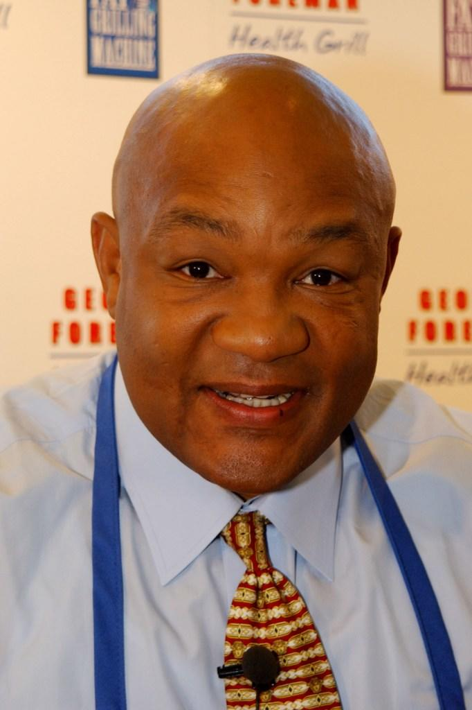 George Foreman at the launch of