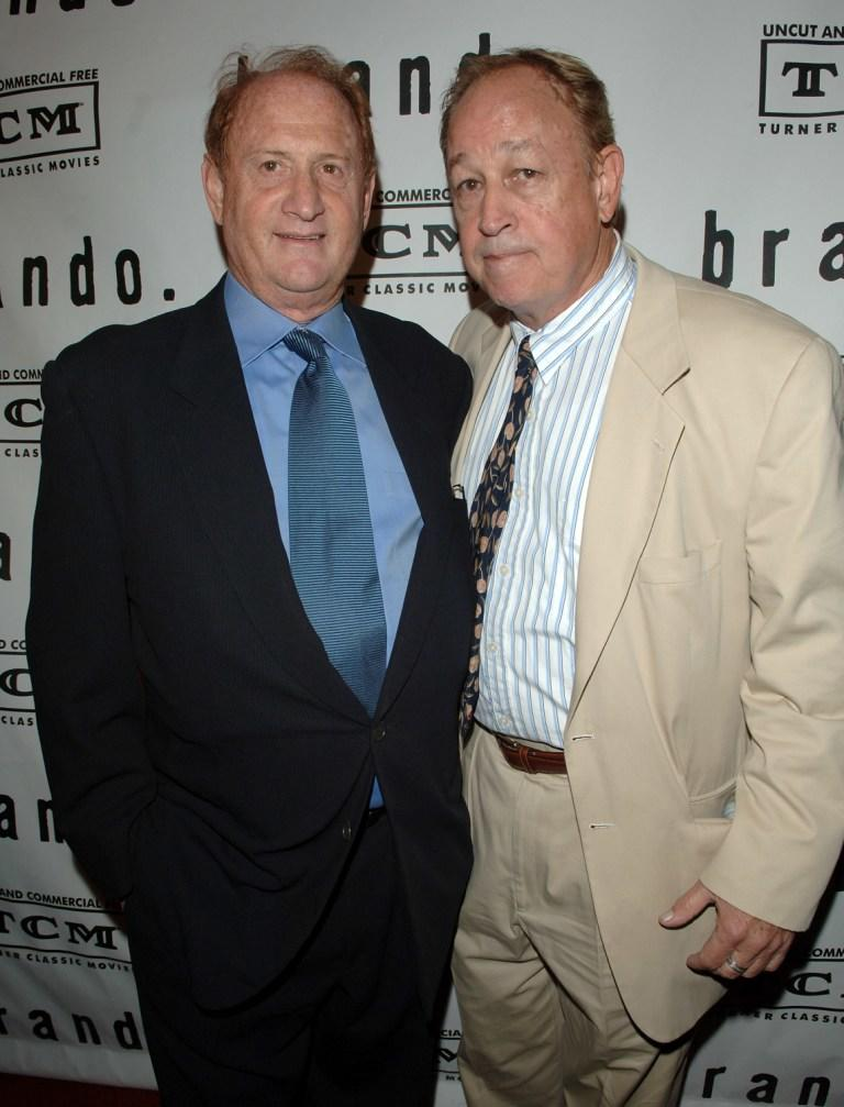 Frederic Forrest and Mike Medavoy at the premiere screening and party of