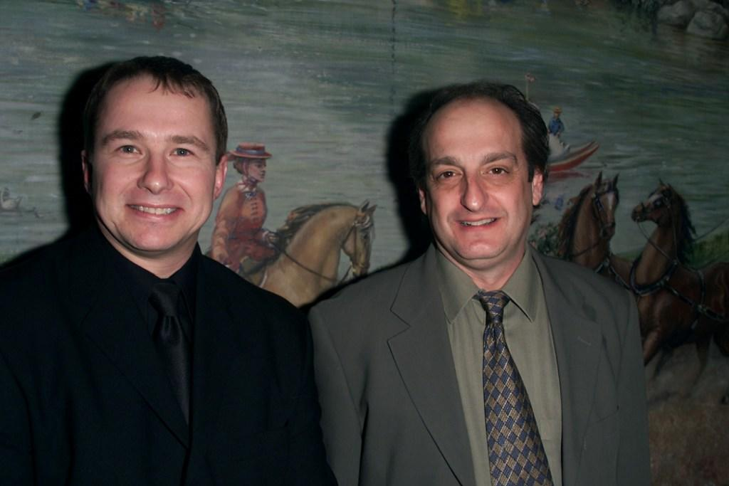 Jim Frangione and David Paymer at the National Board Of Review Awards.