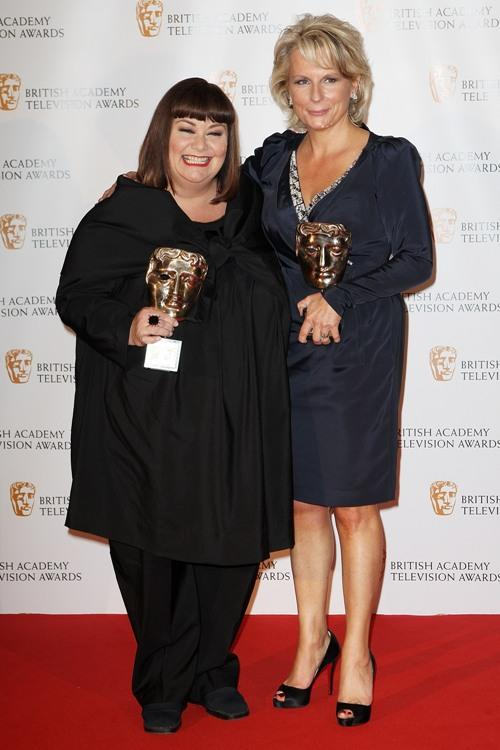 Dawn French and Jennifer Saunders at the BAFTA Television Awards 2009.