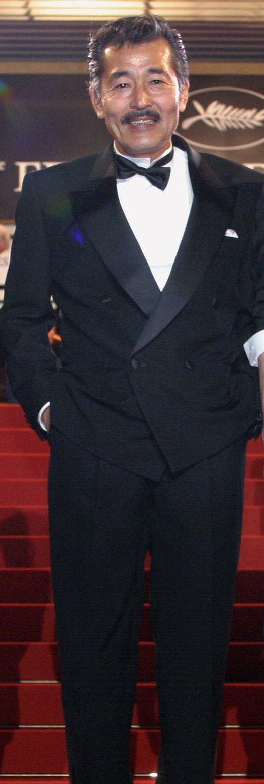 Tatsuya Fuji at the screening of