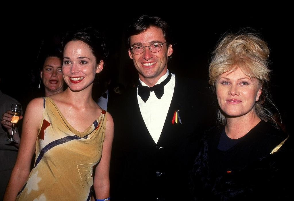 Francis O'Connor, Hugh Jackman and Deborrah-Lee Furness at the Australian Film Industry Awards.