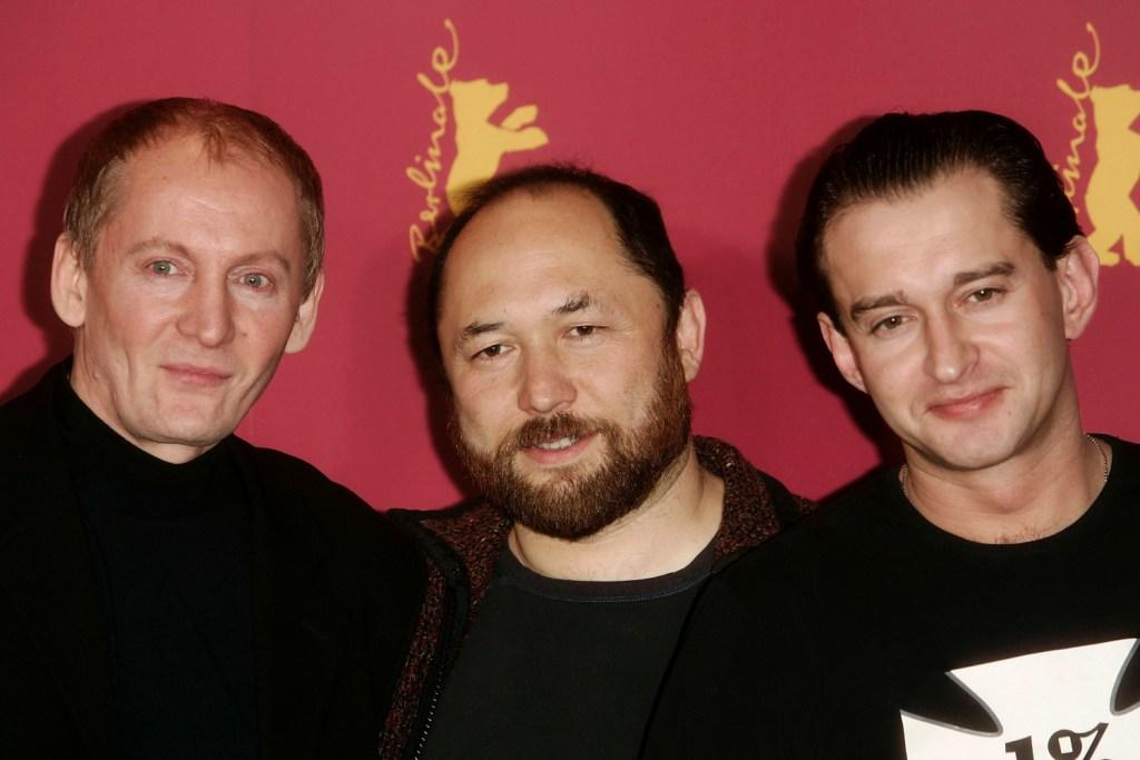 Viktor Verzhbitsky, Timur Bekmambetov and Konstantin Khabensky at the photocall of