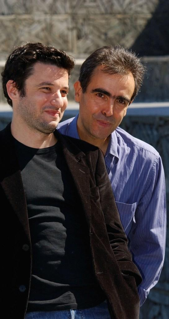 Eric Caravaca and Director Francois Dupeyron at the photocall of