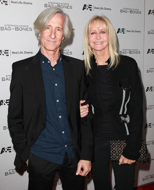 Director Mick Garris and Cynthia Garris at the California premiere of