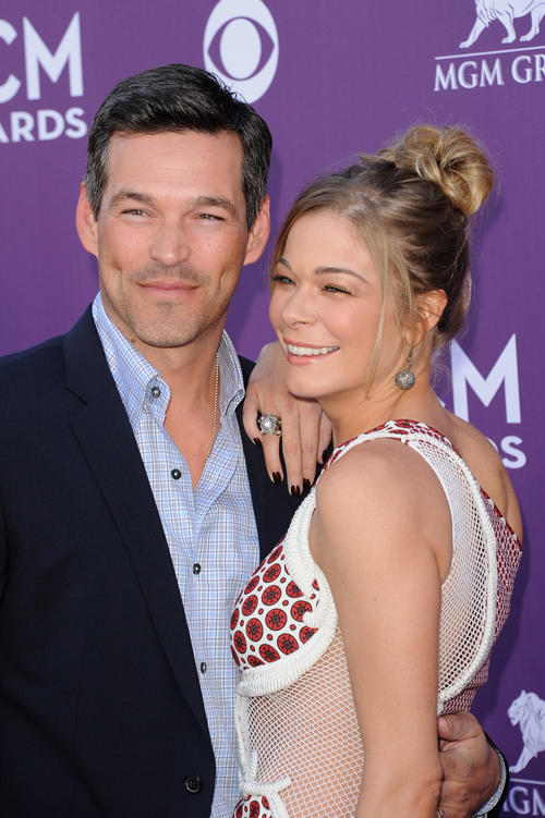 Eddie Cibrian at the 47th Annual Academy of Country Music Awards.