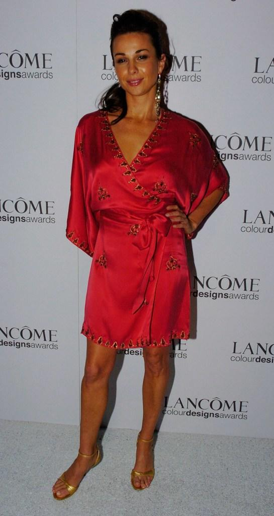 Yvette Duncan at the Lancome Colour Design Awards.