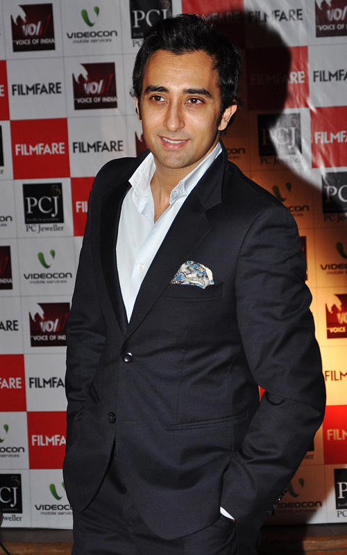 Rahul Khanna at the Film Fare Awards in Mumbai.