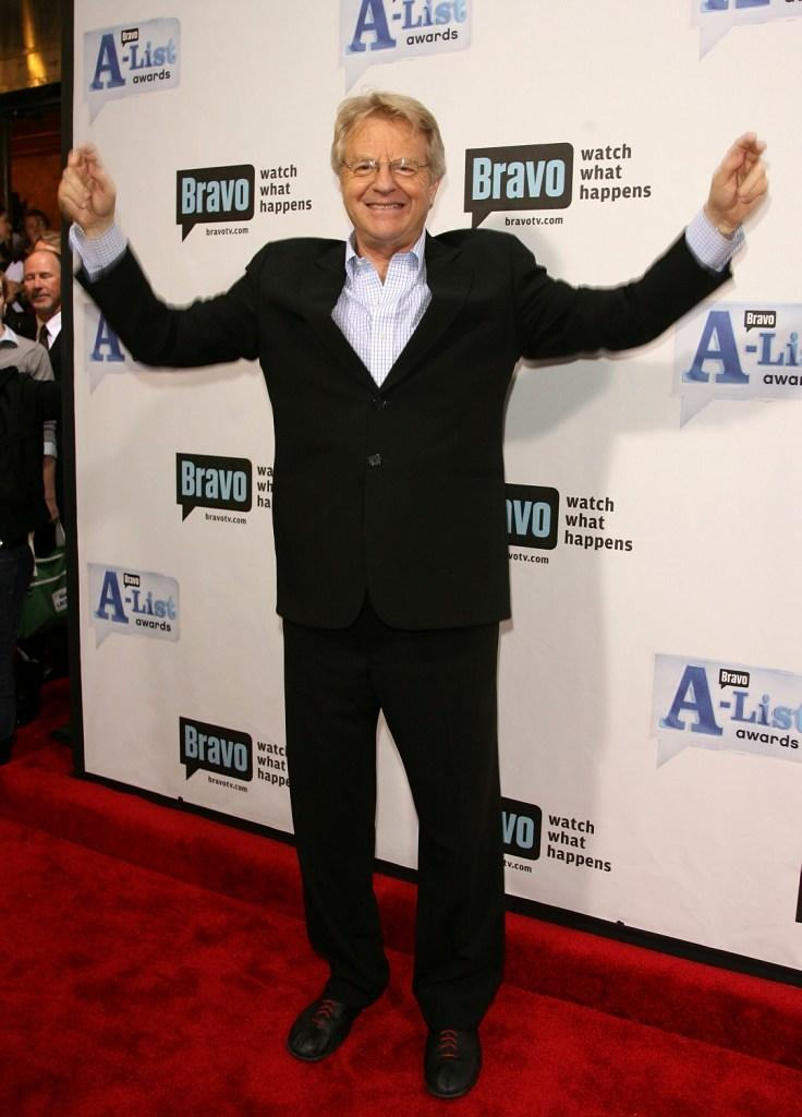 Jerry Springer at the Bravo's First