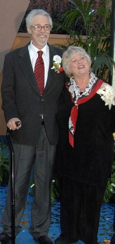 Wayne Allwine and Russi Taylor at the 2008 Disney Legends Ceremony.