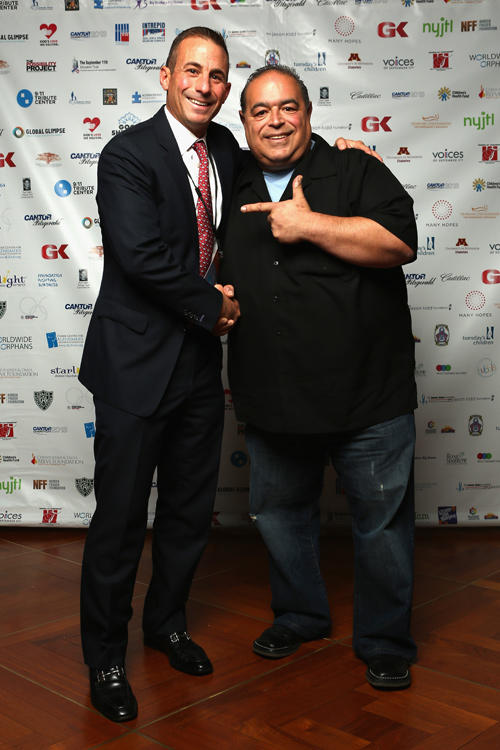 Joseph R. Gannascoli and guest at the Annual Charity Day in New York.