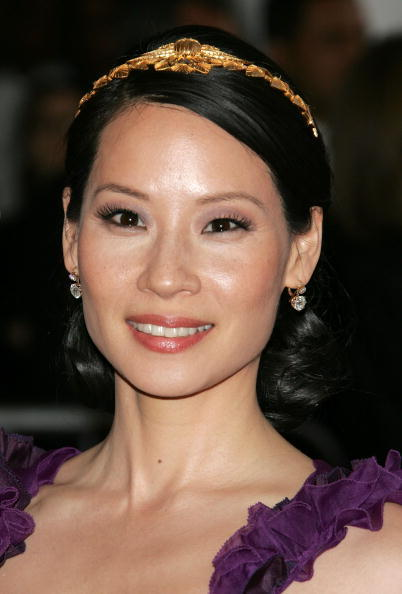 Lucy Liu at the MET Costume Institute Benefit Gala Presents