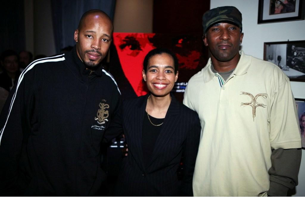 Warren G., Jackie Glover and Producer Cle