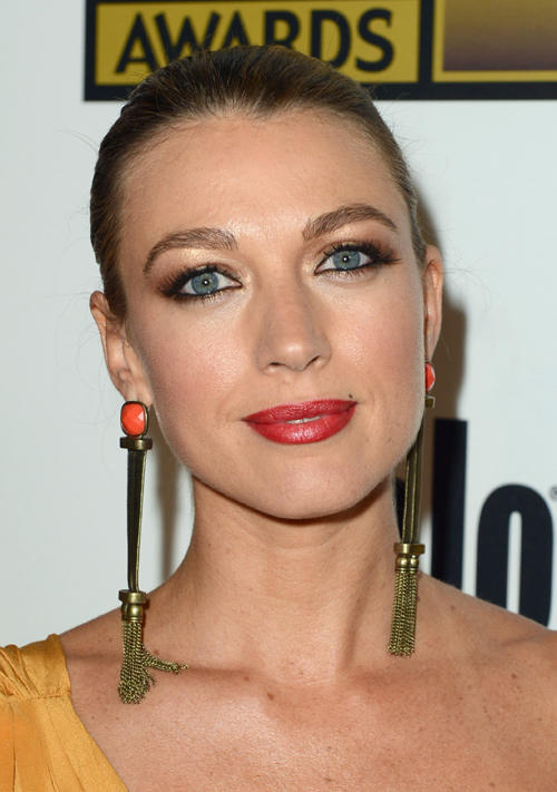 Natalie Zea at the Broadcast Television Journalists Association Second Annual Critics' Choice Awards in California.