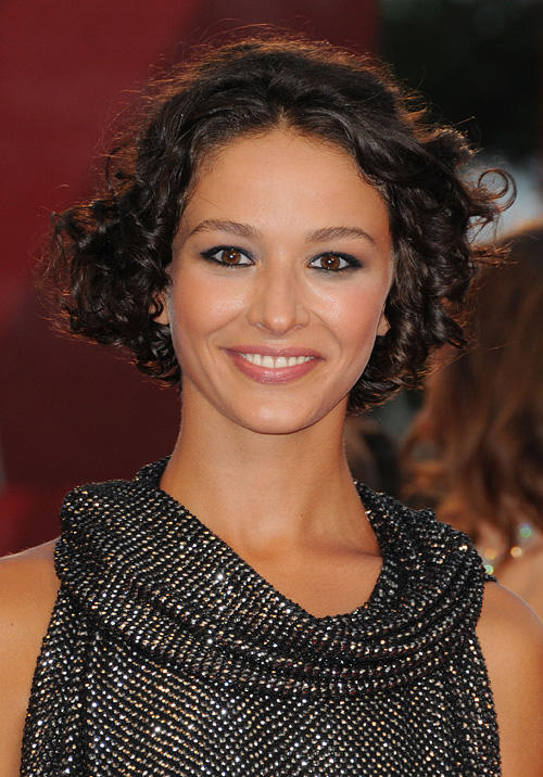 Nicole Grimaudo at the Opening Ceremony and Baaria Red Carpet at the Sala Grande during the 66th Venice Film Festival.