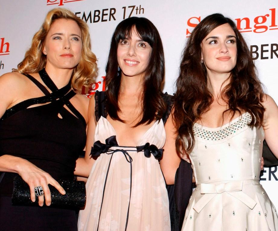 Tea Leoni, Cecilia Suarez and Paz Vega at the Los Angeles premiere of