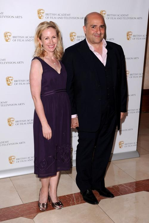 Omid Djalili and Guest at the British Academy Television Craft Awards.