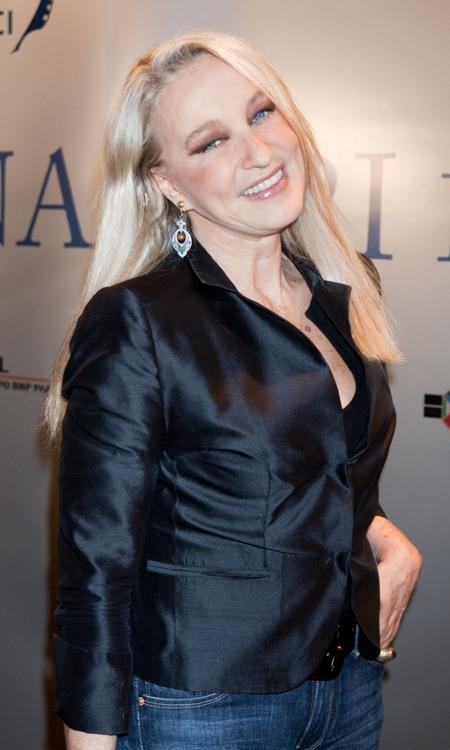 Eleonora Giorgi at the 2009 Nastri D'Argento Nominations dinner party.