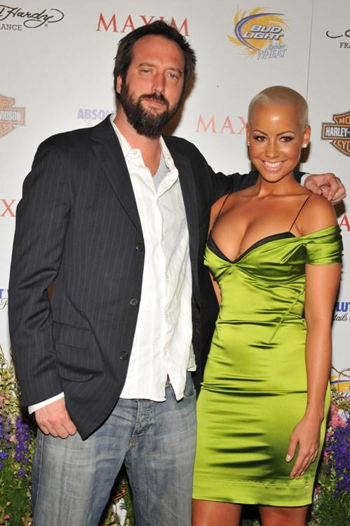 Tom Green and Amber Rose at the 11th Annual Maxim Hot 100 party.