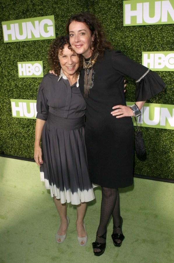 Rhea Perlman and Jane Adams at the premiere of