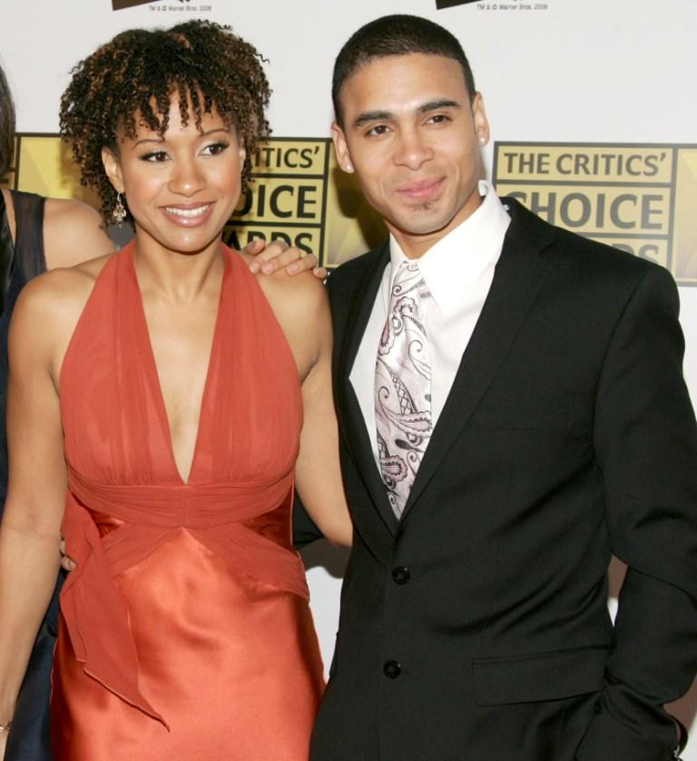 Tracie Thoms and Wilson Jermaine Heredia at the 11th Annual Critics Choice Awards.