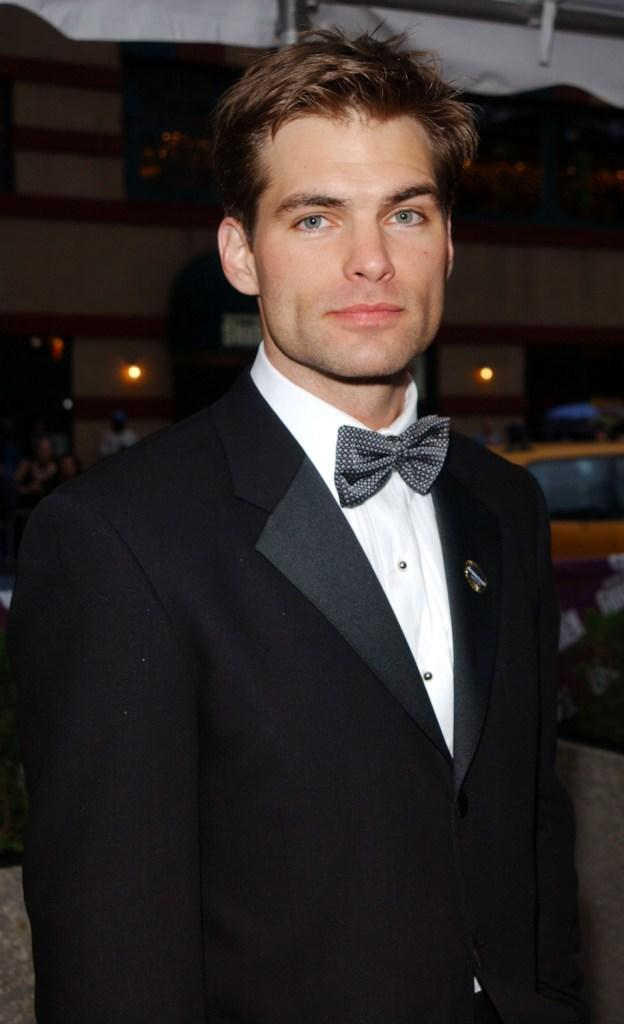 Daniel Cosgrove at the 29th Annual Daytime Emmy Awards.