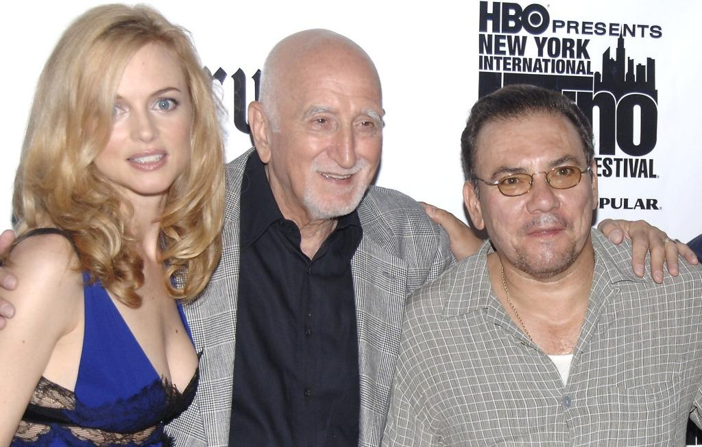 Heather Graham, Dominic Chianese and Richard Petrocelli at the screening of
