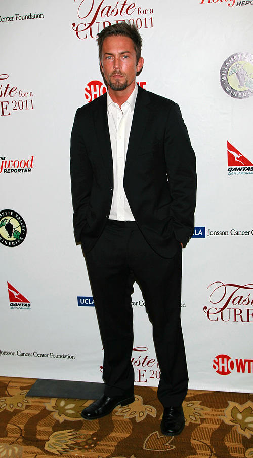 Desmond Harrington at the UCLA's Jonsson Cancer Center Foundation's