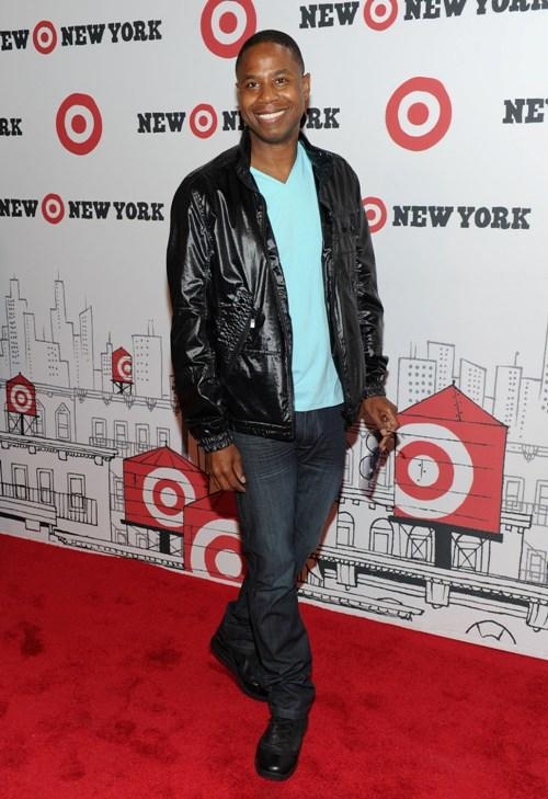 Doug E. Fresh at the grand opening of Target East Harlem.