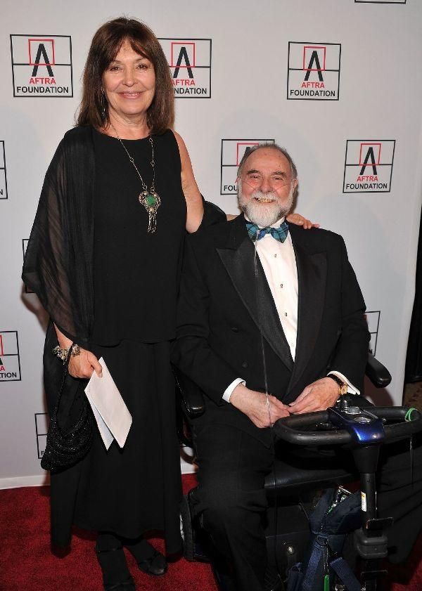 Polly Adams and Jerry Nelson at the 2010 AFTRA AMEE Awards.