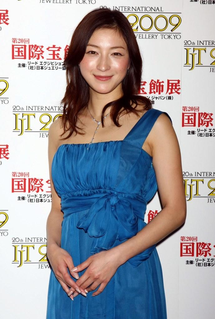 Ryoko Hirosue at the 20th Japan Best Jewellery Wearer Awards.
