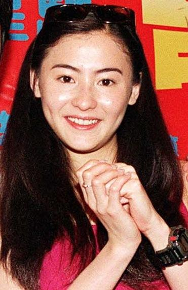 Cecilia Cheung at the press conference to promote