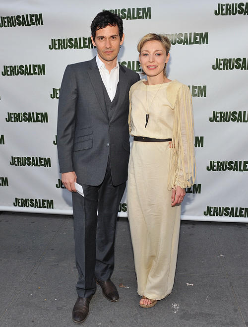 Christian Camargo and Juliet Rylance at the Broadway opening night of