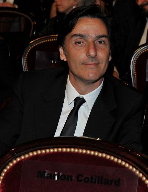 Yvan Attal at the 35th Cesar Film Awards 2010.