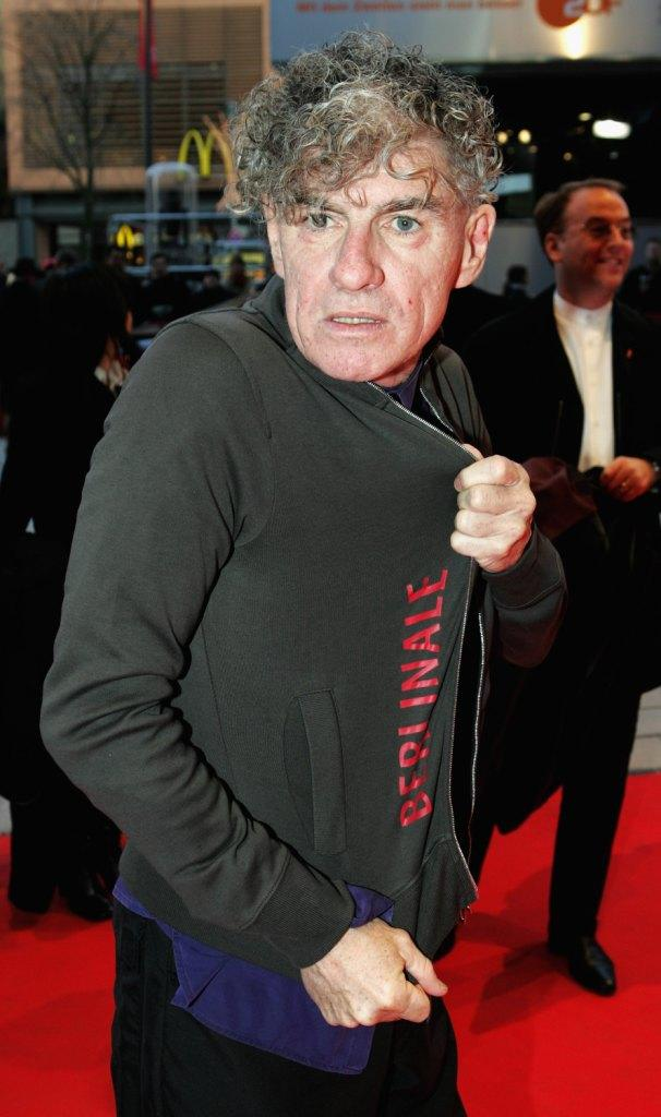 Christopher Doyle at the premiere of