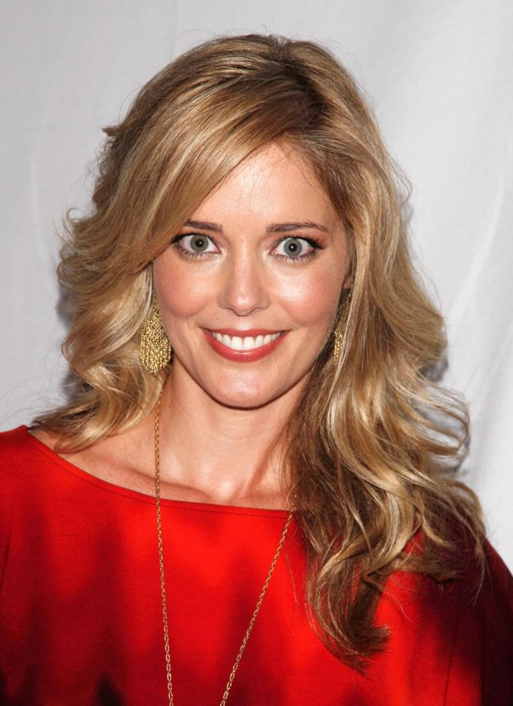 Christina Moore at the premiere party of