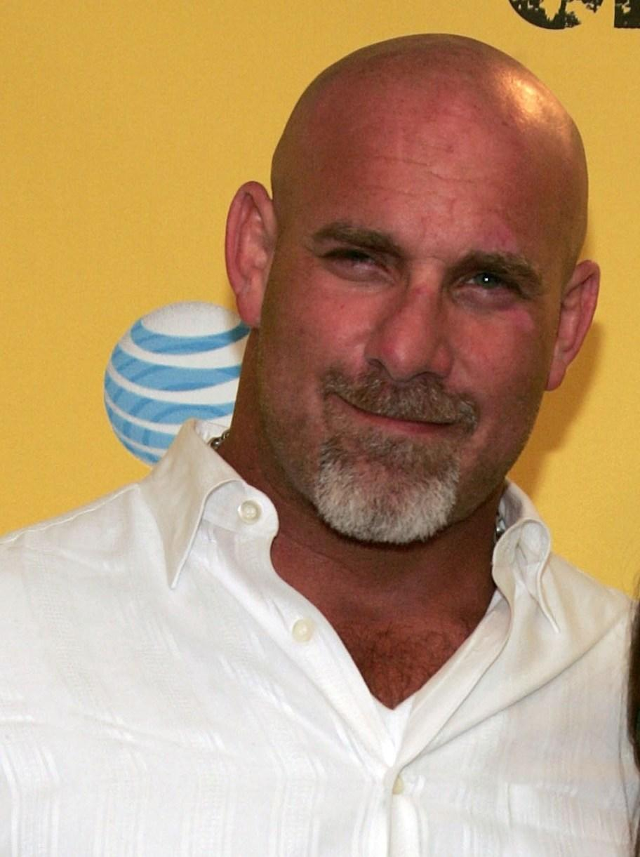 Bill Goldberg at the Spike TV's First Annual Guys Choice taped.